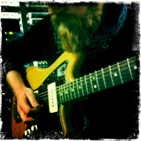 Recording funky tunes